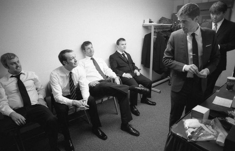 02 pre-ceremony - 04 groomsmen and Joel