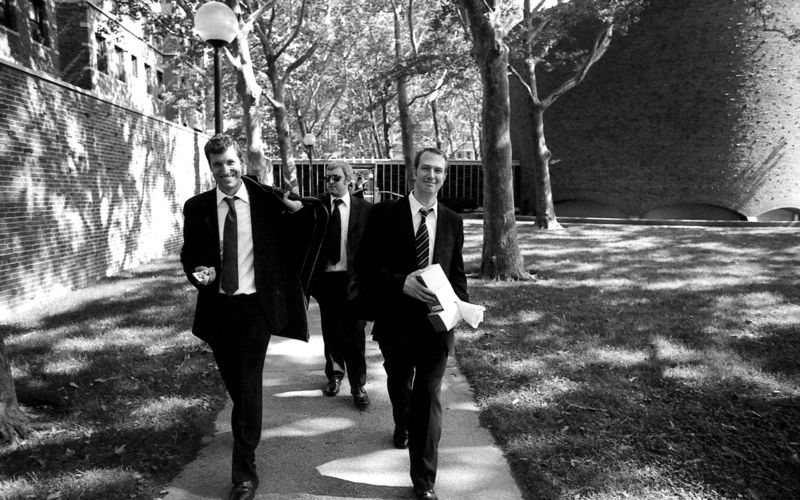 04 post-ceremony - 02 groomsmen walking out