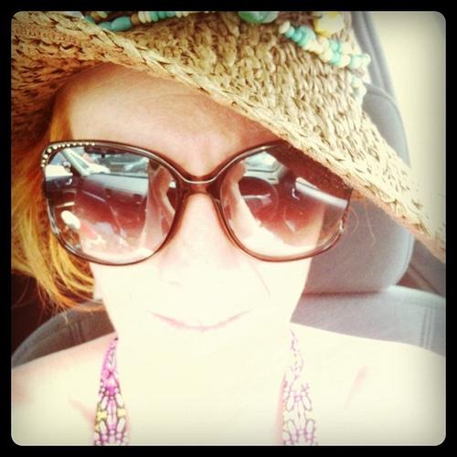 Me in car